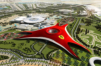 Парк «Ferrari World» в Абу-Даби