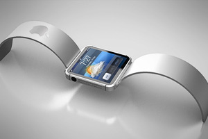 Apple показала оригинальный прототип часов iWatch