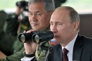 Путин лично наблюдал за ходом учений на Сахалине