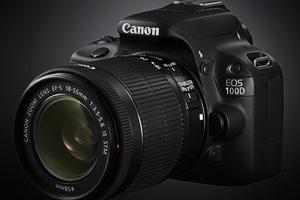 Canon выпустит миниатюрную зеркальную камеру EOS 100D